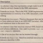 XML Standards Support in .NET