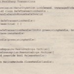 Transactions with Windows Vista and Windows Server 2008